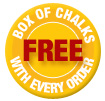 Free chalks with every chalkboard order
